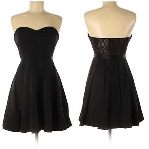 Max and Cleo Black Cocktail Dress